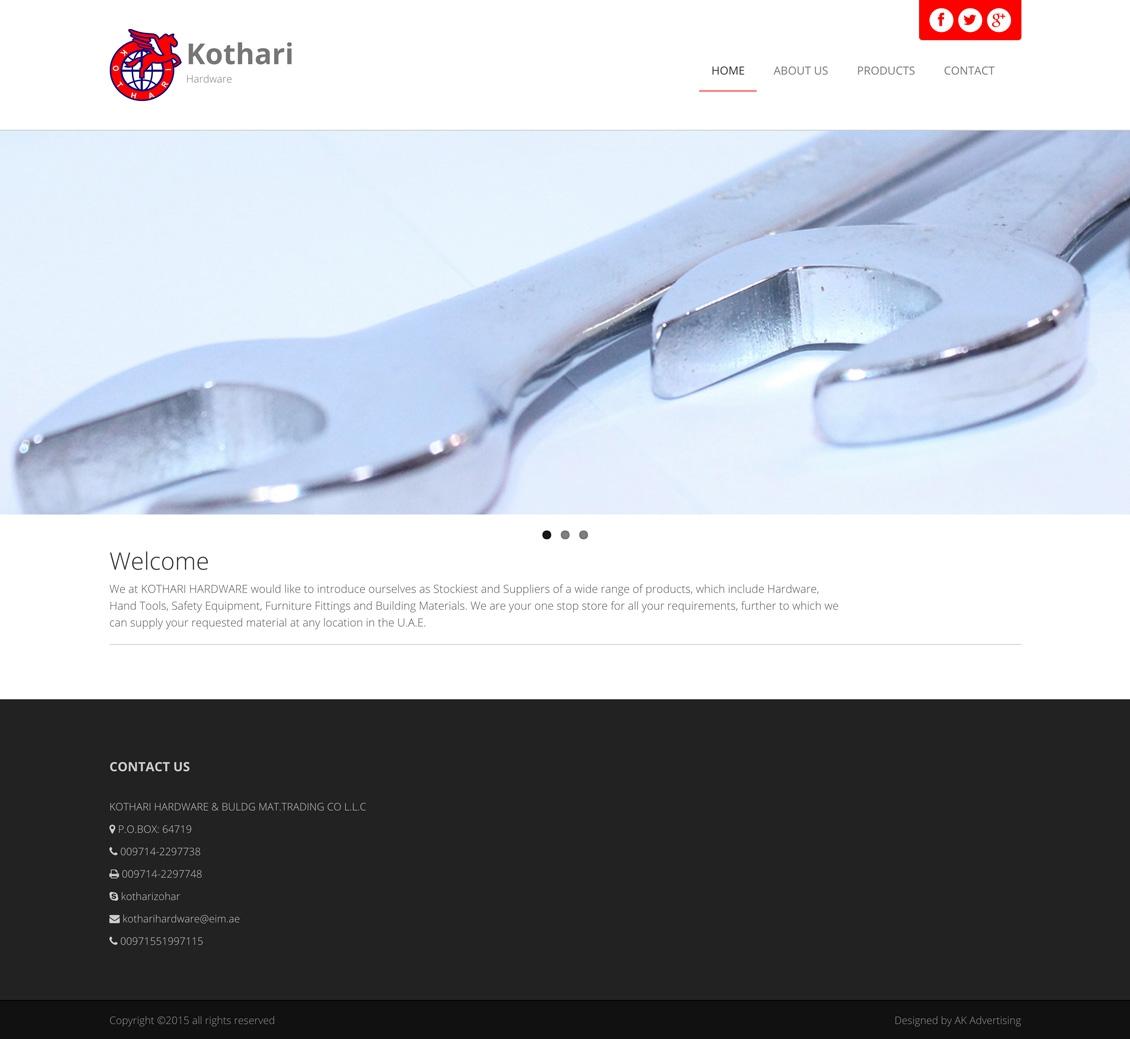 kothari homepage